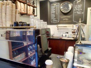 Mulberry Street Espresso inside
