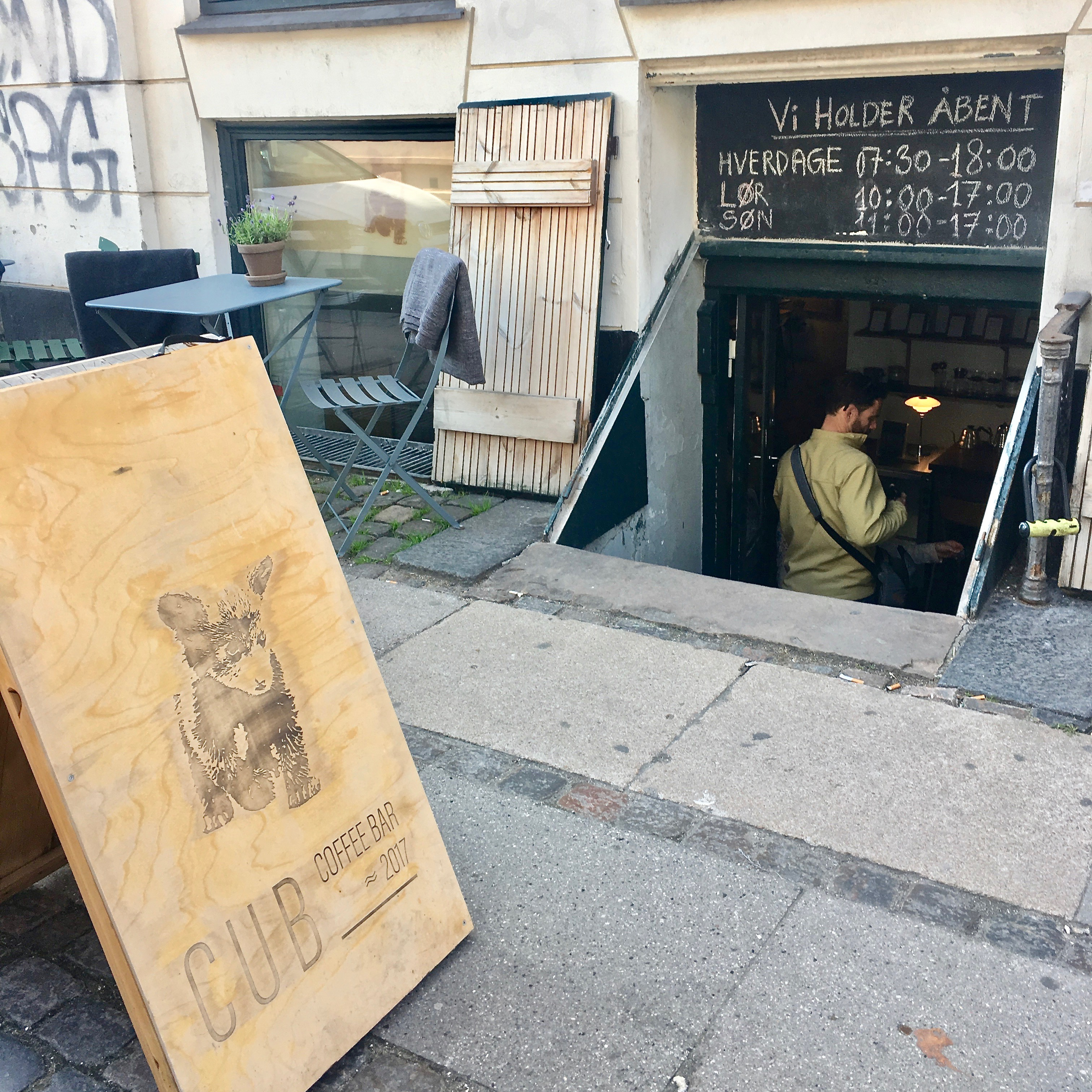 CUB Coffee Bar outside