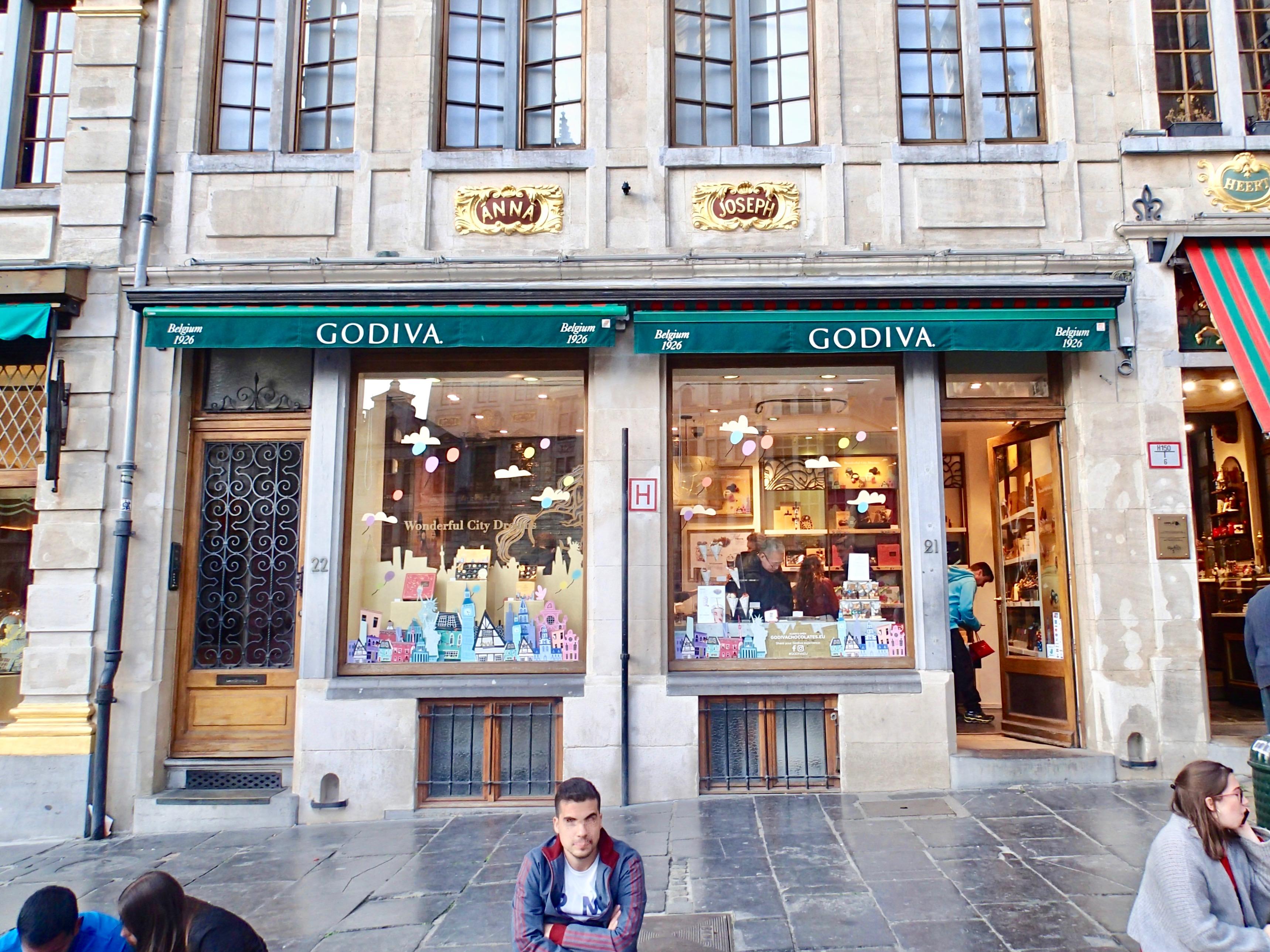 Godiva outside