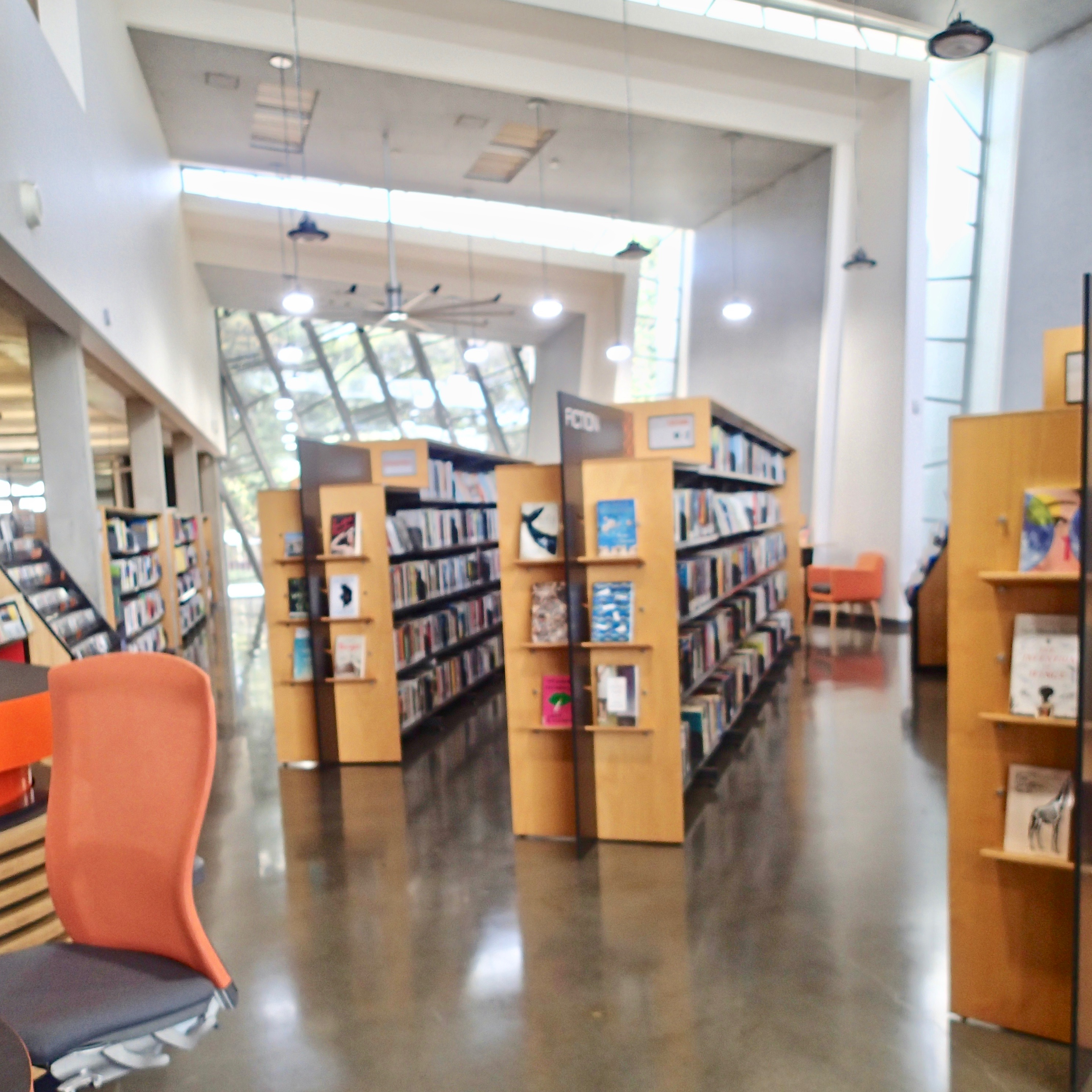 East Melbourne Library inside