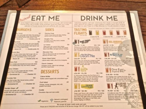 winkingseal menu